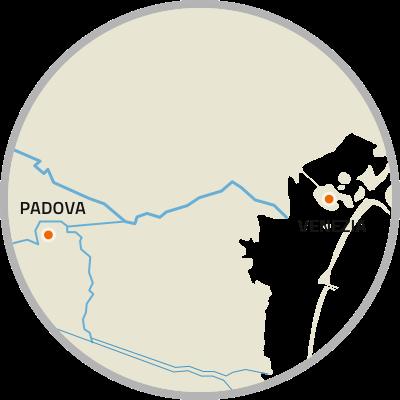 Mappa Riviera del Brenta